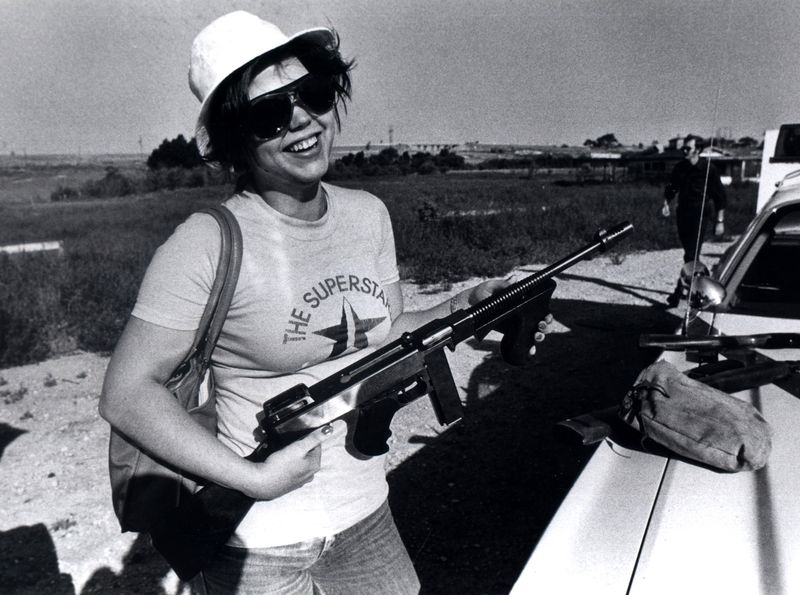 SKB with a real weapon under loose LPD supervision 1978