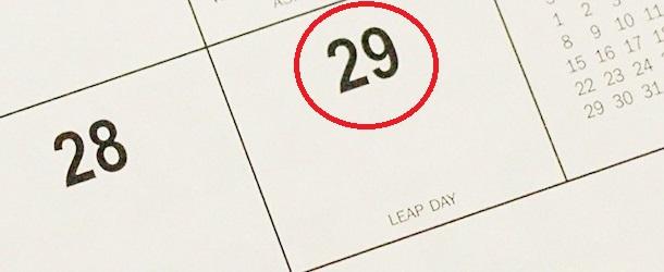Leap-year-calendar-february-29