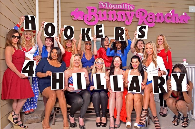 Bunny Ranch Nevada_Hookers for Hillary