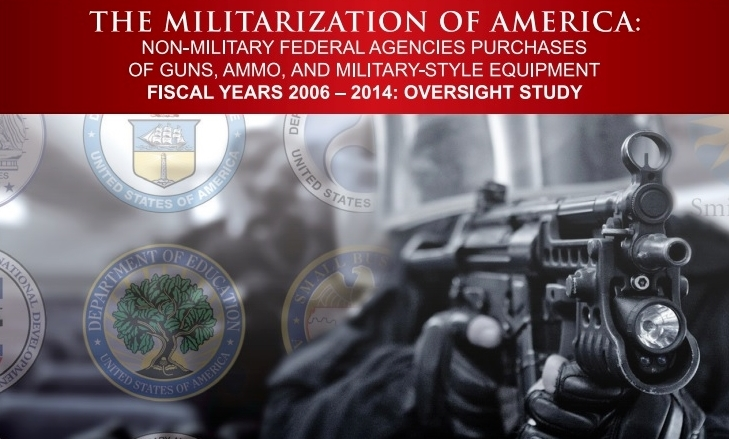 Militarization of America_Open the Books cover excerpt (2)