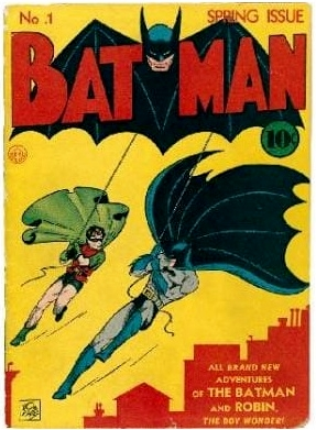 Batman and Robin get their own comic in 1940