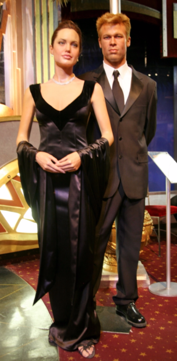 Angelina Jolie and Brad Pitt figures at Madame Tussauds_Cliff via Flickr