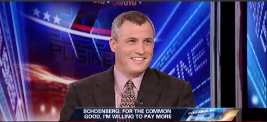 Eric Schoenberg on Fox Business_rich should pay more taxes May 2011