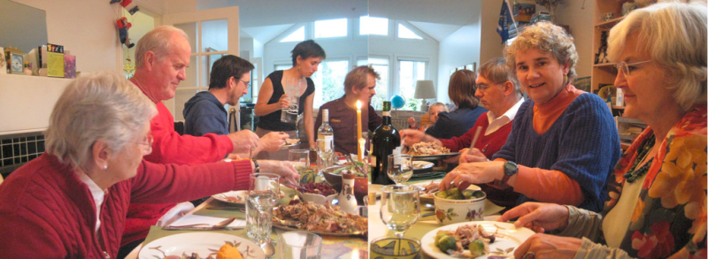 Family Thanksgiving by NealeA via Flickr CC
