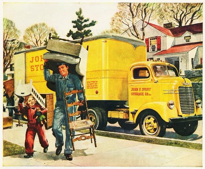 Vintage moving van ad courtesy aldenjewell flickr