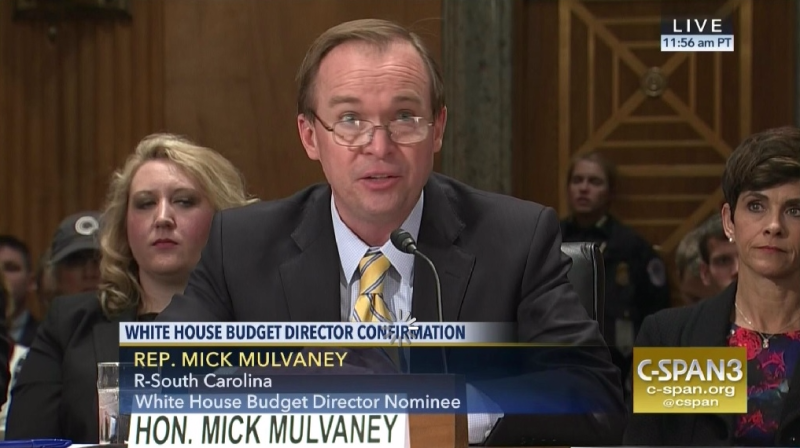 Mick Mulvaney OMB confirmation hearing_C-SPAN