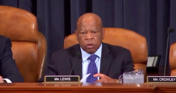 Rep John Lewis opening statement at WM Oversight hearing 26April2017