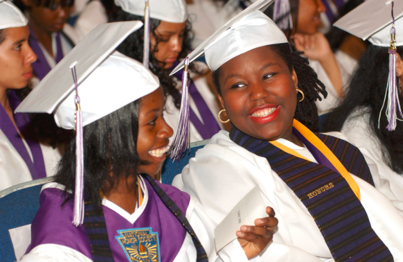 High School graduation ceremony-enjoying it1_US Dept of Education via Flickr