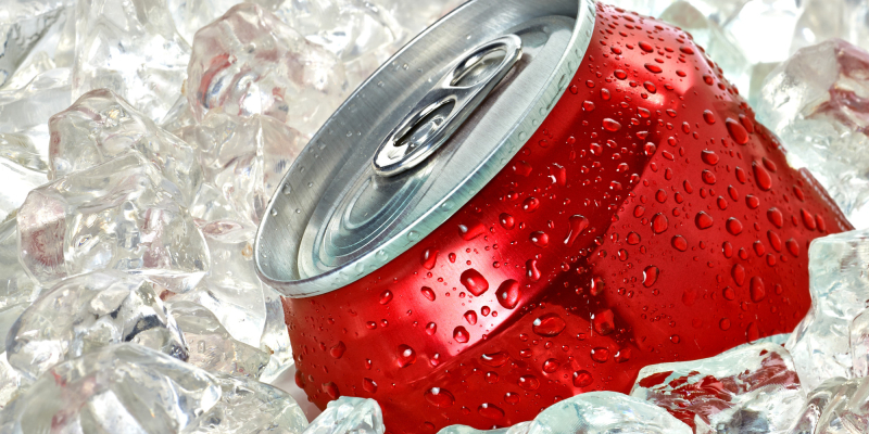 Coke in ice_Coca-Cola Facebook