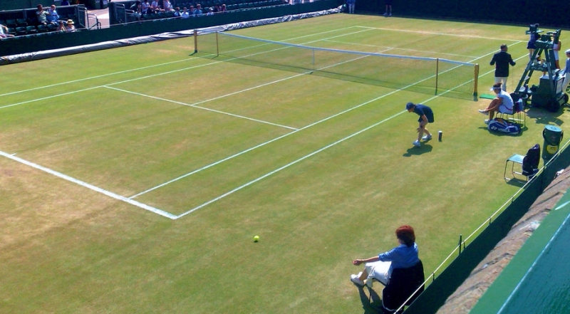 A Wimbledon grass court_Nic Gould 2009 via Flickr