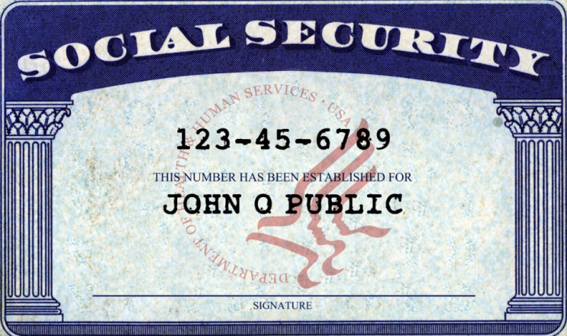 Click image for more on Social Security cards from the SSA