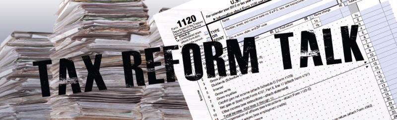 Tax reform talk