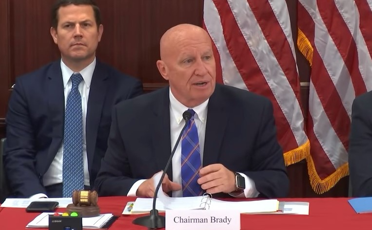 WM Chair Kevin Brady of Texas addressing tax bill conference committee 121317