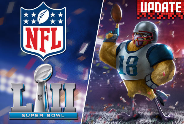 NFL teams up with Rovio Angry Birds