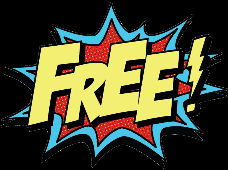 Free in Batman comics style