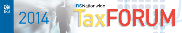 IRS 2004 Nationwide Tax Forum banner