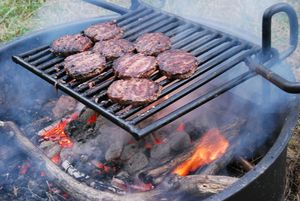 Hamburgers on grill_ vastateparksstaff via Flickr