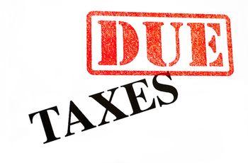 Tax bill due