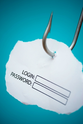 Phishing login name password hook