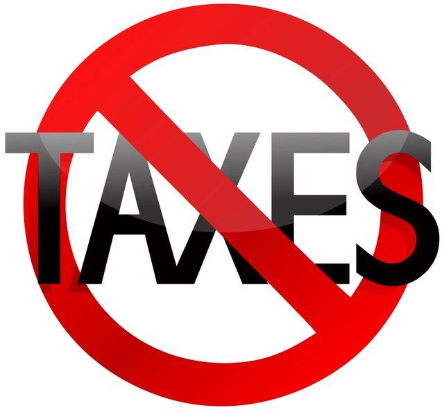 No-Taxes-Symbol