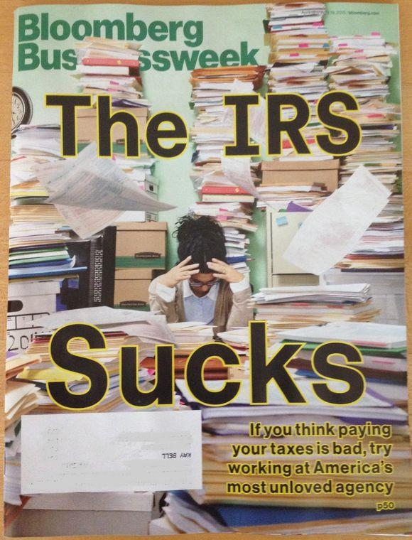 Bloomberg magazine cover