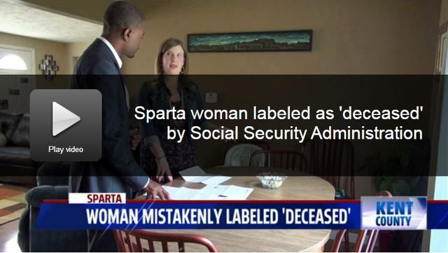 Sarah Jewell of Sparta Michigan explains to Fox17 her deceased tax etc issues