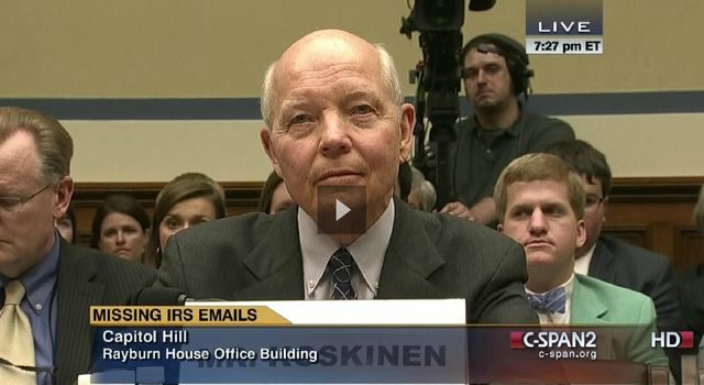 IRS Commissioner John Koskinen at House Oversight hearing_June 23 2014
