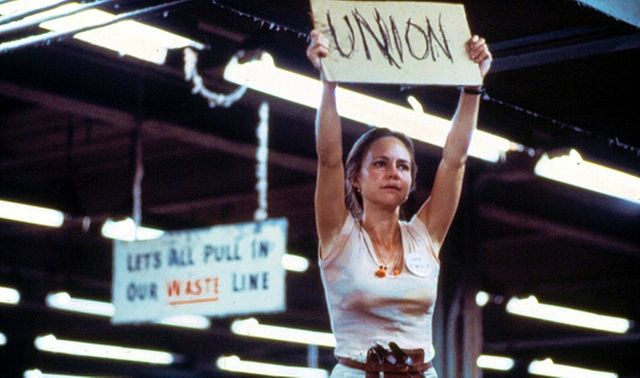 Sally Field as Norma Rae in 1979 movie