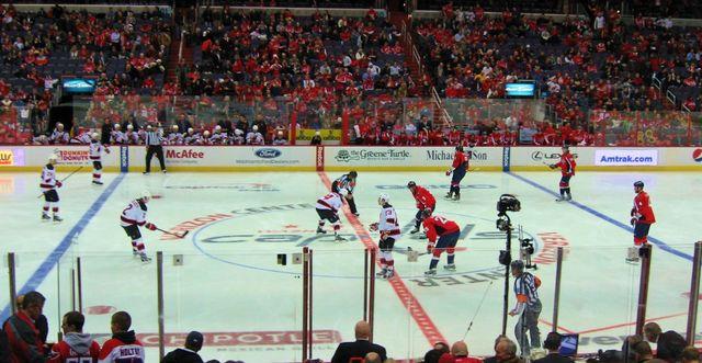 Capitals vs Devils February 2013