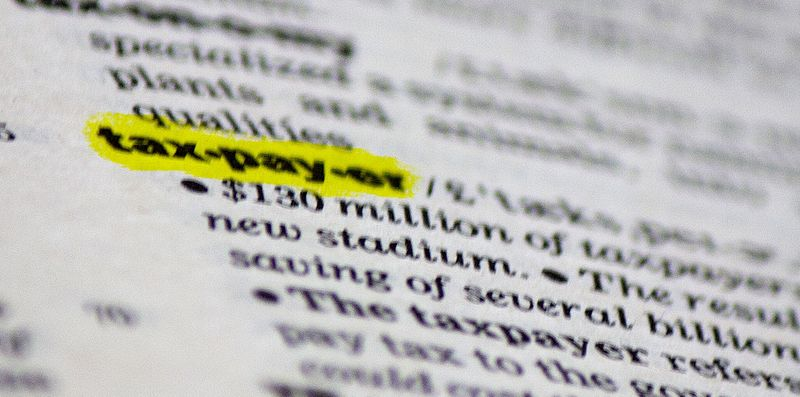 Taxpayer highlighted definition dictionary page_eFile989 Flickr