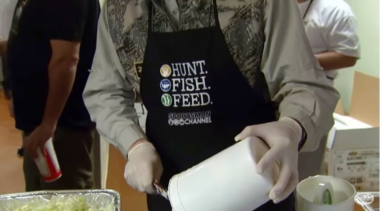 NSSF video screen shot on Hunt to Feed program