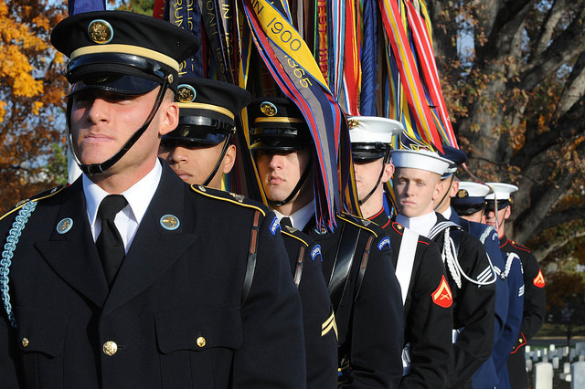 Veterans Day 2015 at Arlington National Cemetary_Veterans Affairs photo by Robert Turtil
