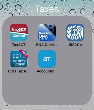 Iphone tax apps