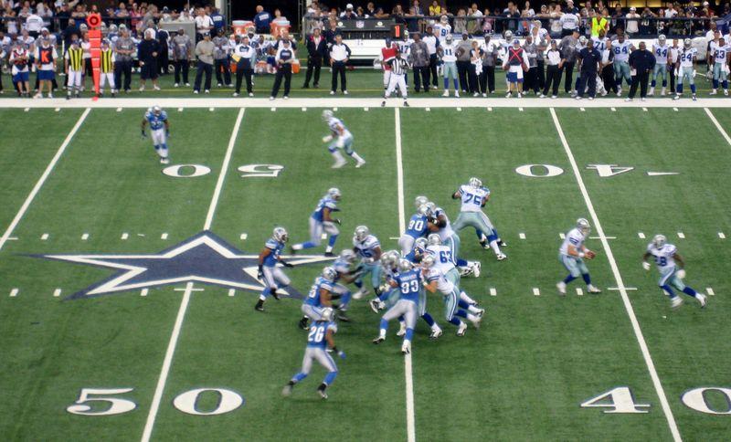 NFL's Cowboys vs Lion photo by SKB (2)