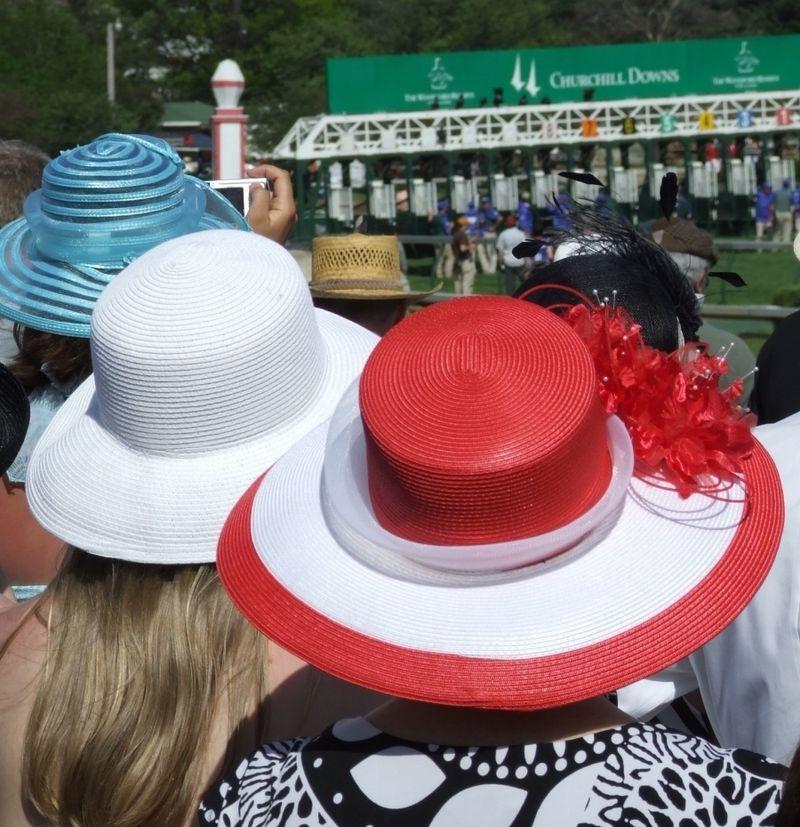 Kentucky Derby hats by Lee Burchfield derby044 Flickr CC