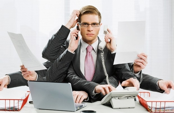 Multitasking demands of being an entrepreneur