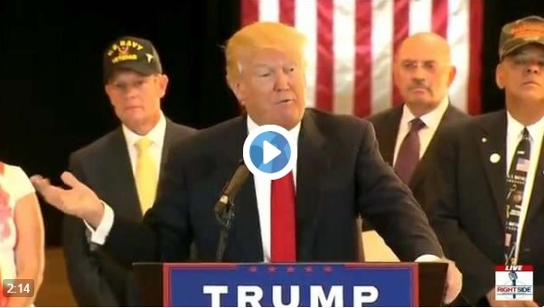Donald Trump attacks press and announces veterans groups donations May 31 2016