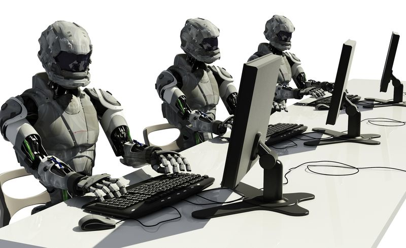 Robots-using-computers