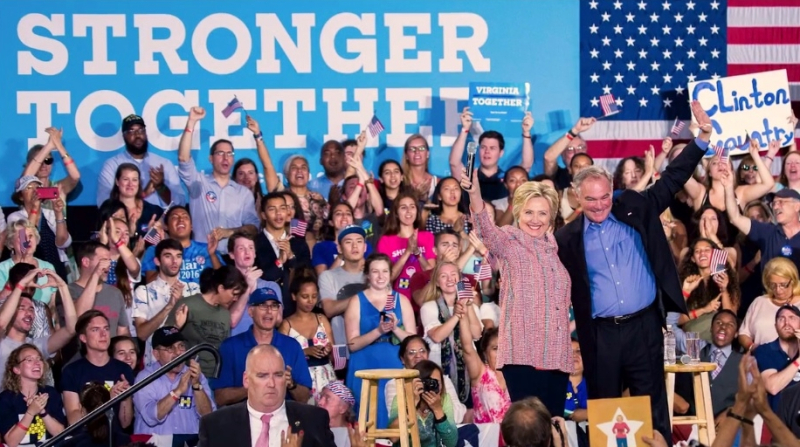 Hillary Clinton and Tim Kaine in Florida 7-23-16_Clinton campaign Facebook