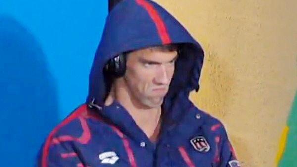 Michael Phelps face prep PhelpsFace meme