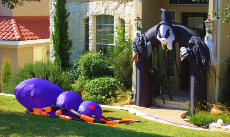 Halloween in my neighborhood