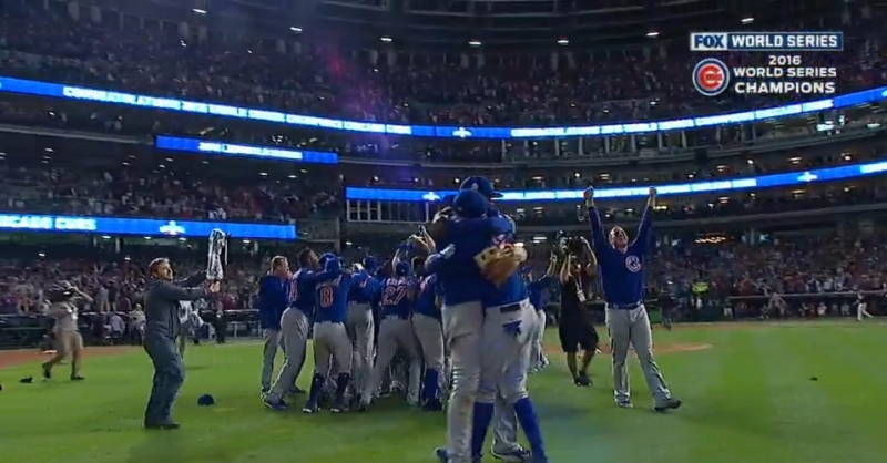 Cubs win World Series_MLB video clip screen shot