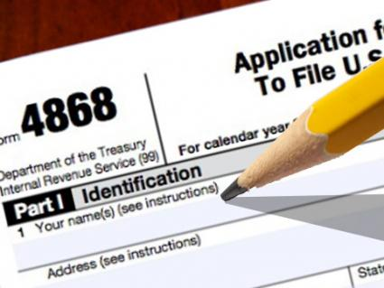 Form 4868 The Tax Procrastinators Best Friend Dont Mess With Taxes