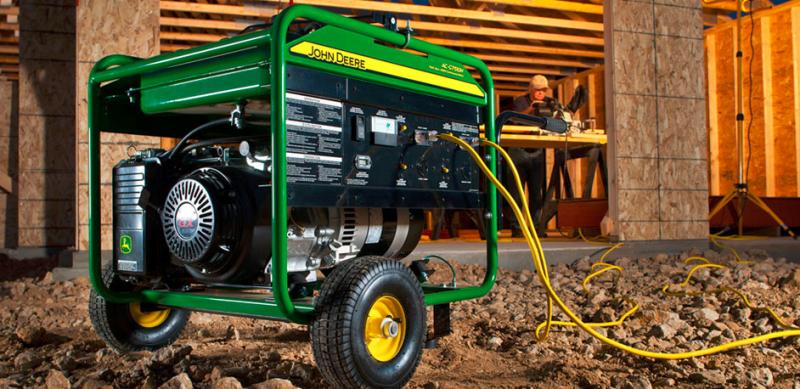 Portable generator_John Deere