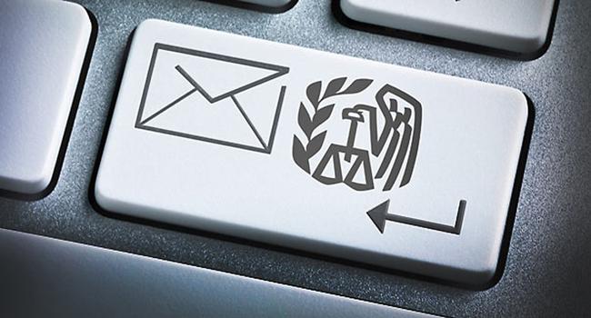 Efiling tax return computer key