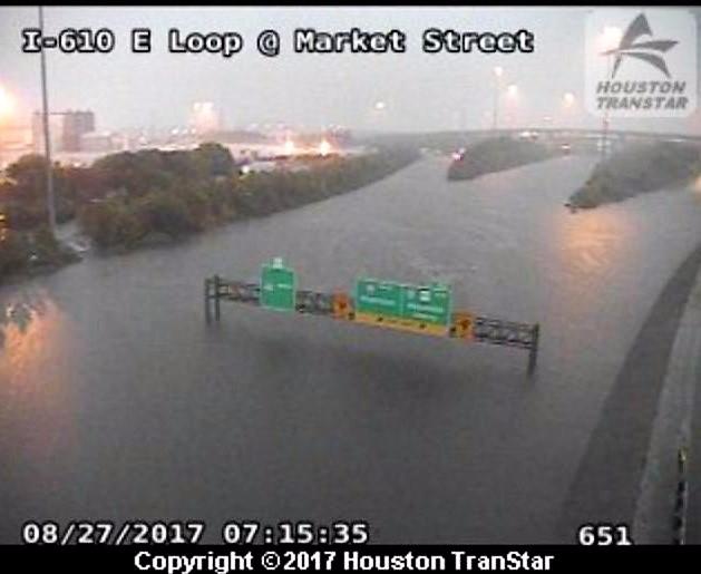 Houston I-610 E Loop at Market Street_Houston TranStar