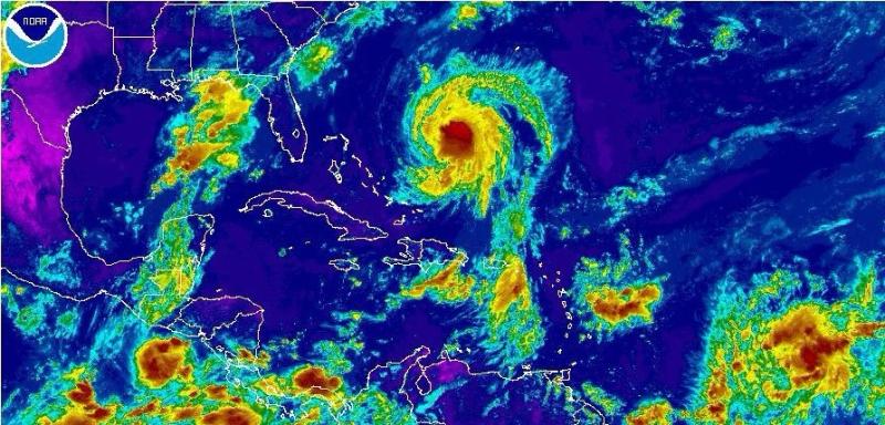 Hurricane Jose is back NHC radar 091517