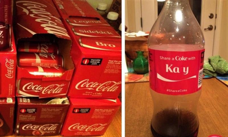 Kay Coca-Cola montage