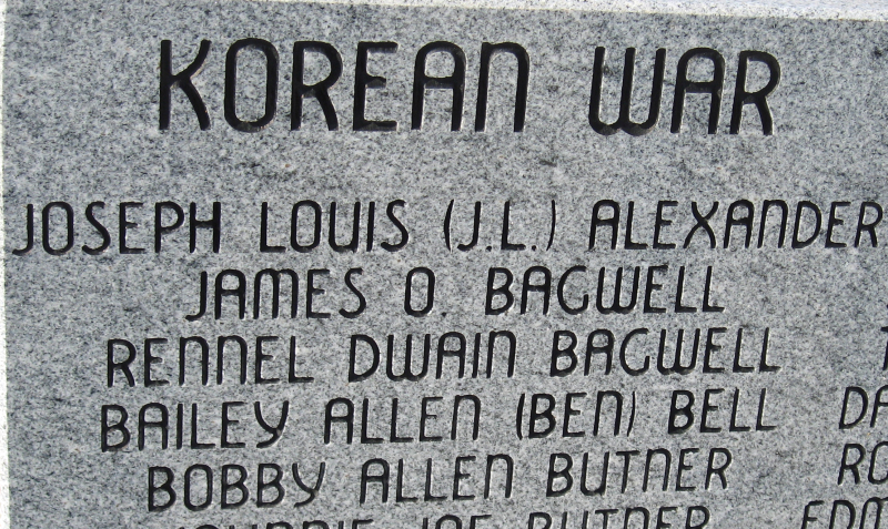 Bronte War Memorial Korea Ben Bell