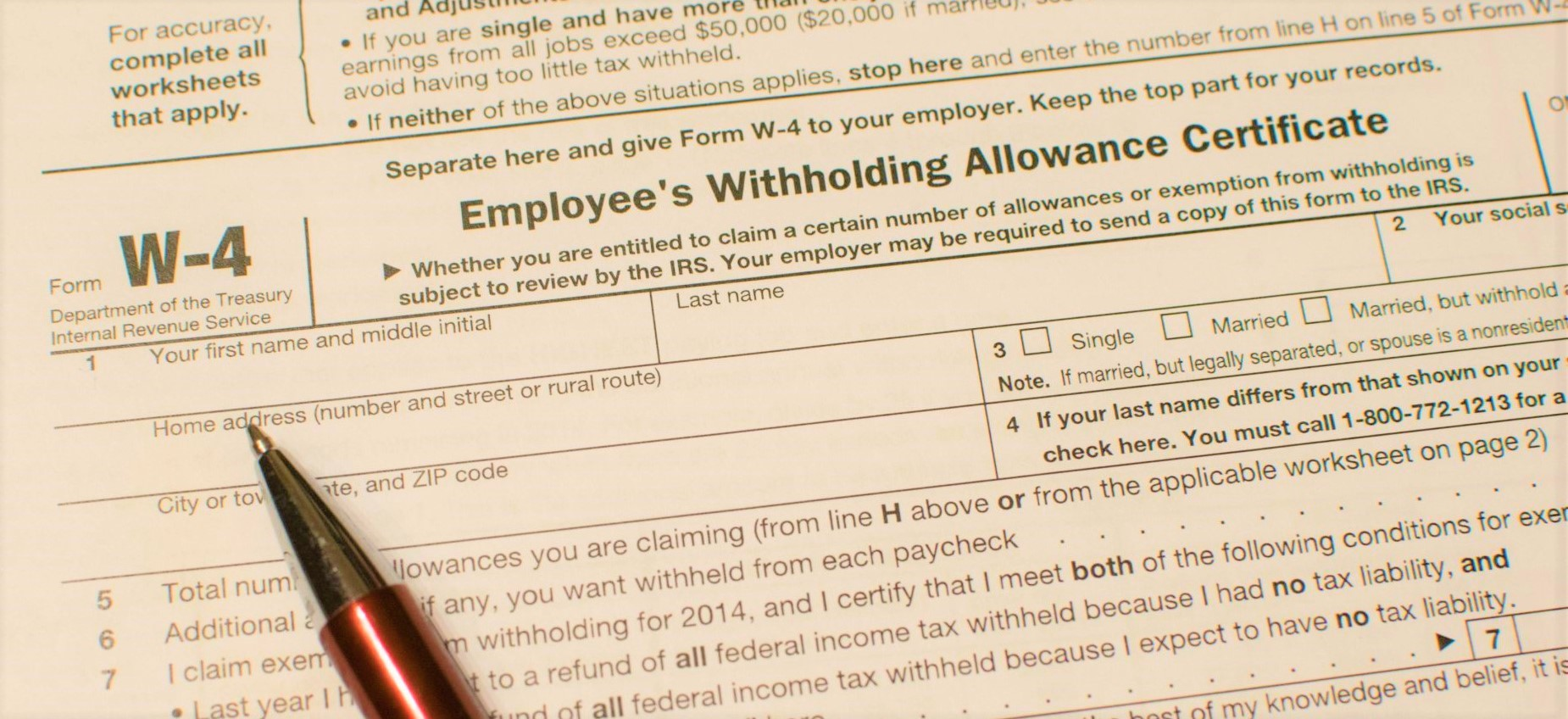 Your current W-4 will work with new tax law (for now) - Don\'t Mess ...